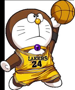 259x310 Doraemon In Kobe Bryant's Jersey By Coxlee