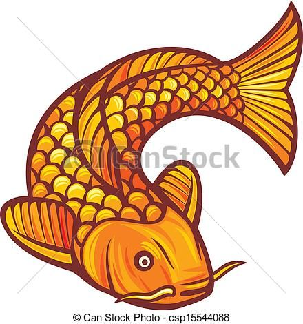 440x470 Fish Stock Clipart
