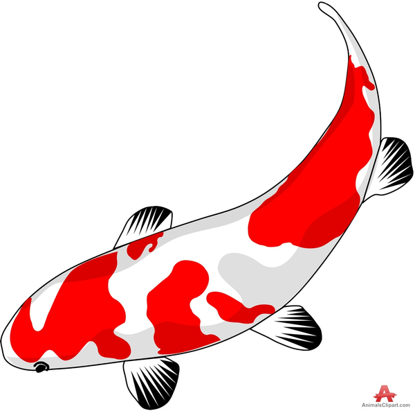 600x593 Koi Clipart Free Download Free Images
