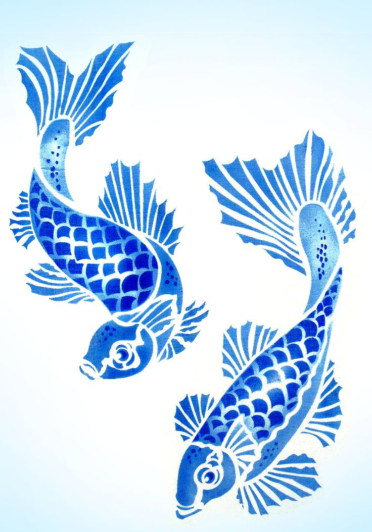 736x1054 Koi Carp Clipart 2 Fish