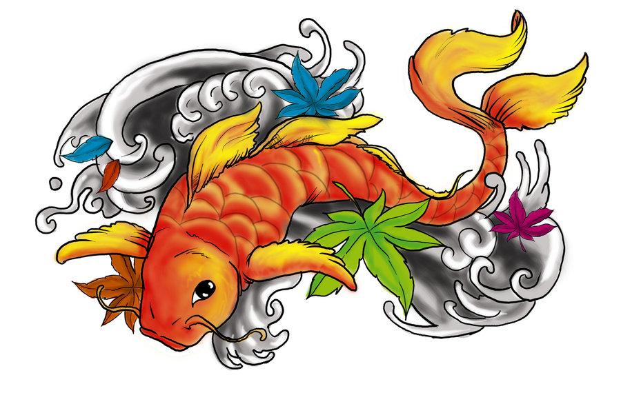 900x602 Koi Fish Clipart Ikan Free Collection Download And Share Koi