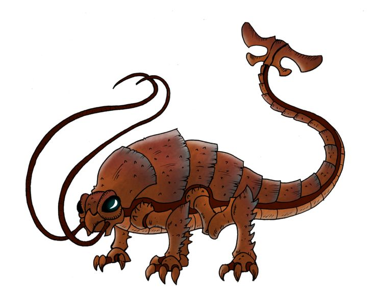 Komodo Dragon Clipart