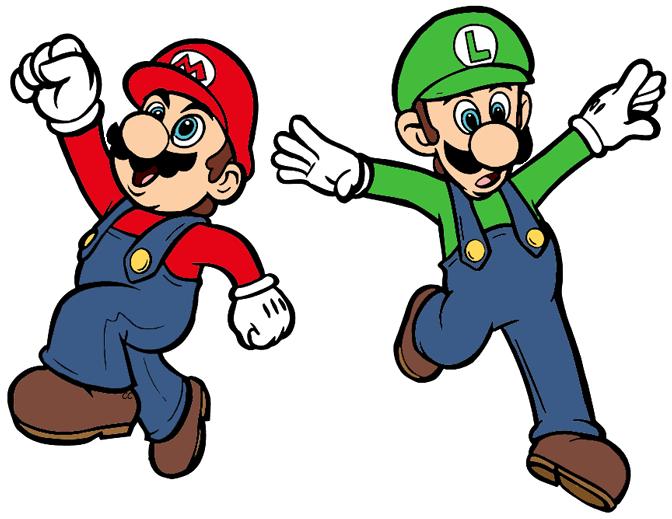 672x519 Super Mario Bros Clip Art Cartoon Clip Art