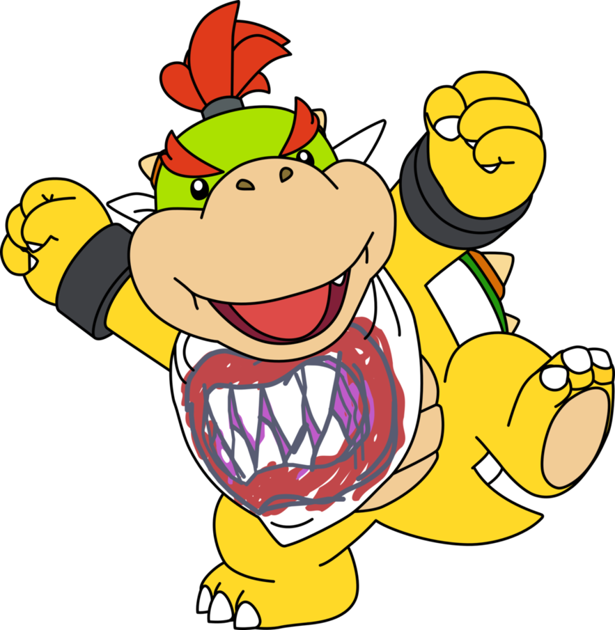 883x905 Collection Of Bowser Jr Clipart High Quality, Free Cliparts