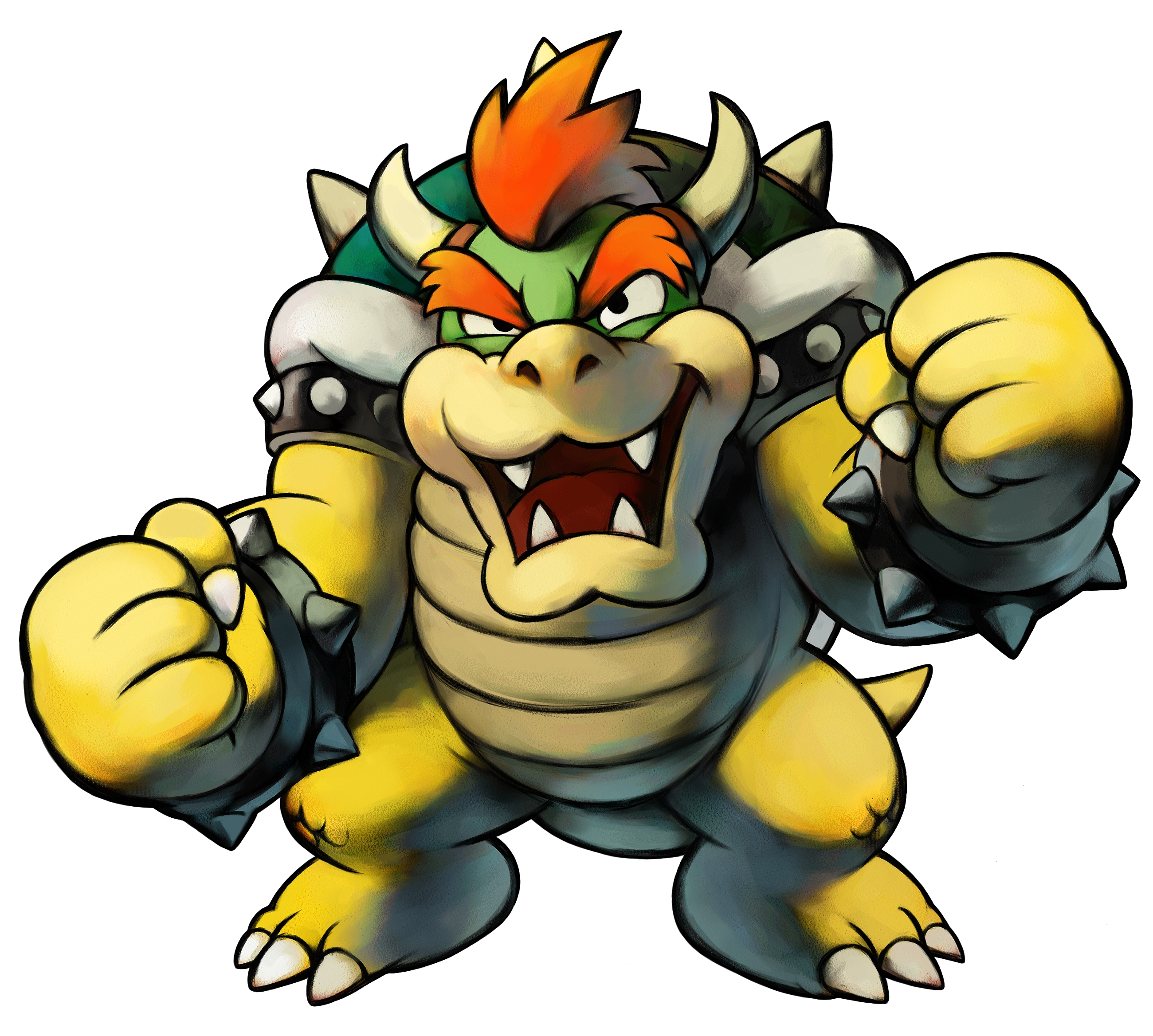 2600x2336 Tmk Downloads Images Mario Amp Luigi Superstar Saga (Gba)