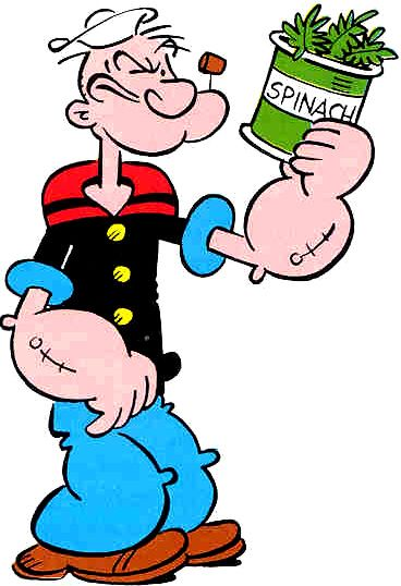 368x538 Eat Me Clip Art Korean Spinach My Way, Popeye! Where Are You