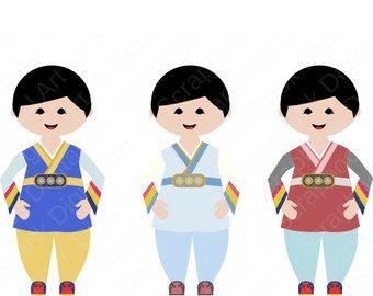 340x270 Korean Boy Hanbok Hanbok Clip Art Hanbok Boy Korean