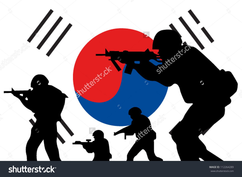1500x1100 Korean War Clipart