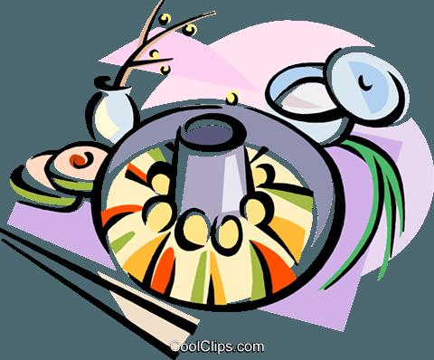 480x398 Korean Cuisine Shinsolo Bbq Royalty Free Vector Clip Art