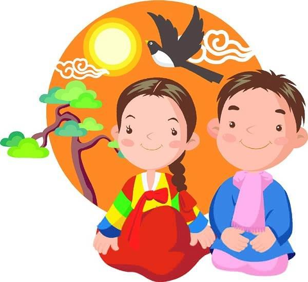 600x548 South Korea Children Clipart Free Images