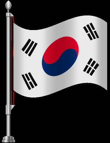384x500 South Korea Flag Png Clip Art