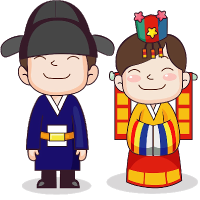 400x400 Korean Clipart Cute Korean 14.png Bride And Groom