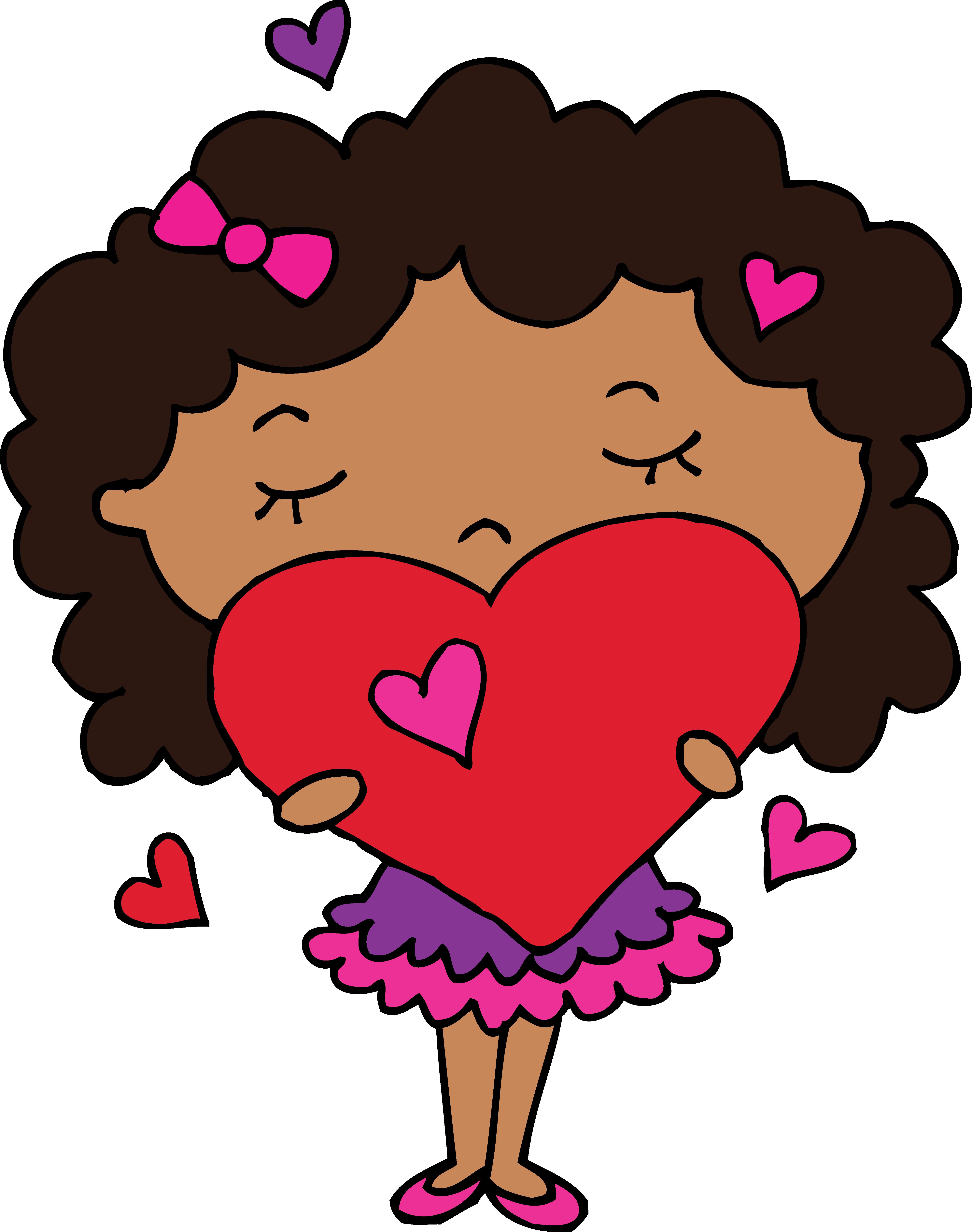4929x6244 Korean Cute Heart Clipart