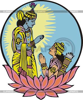 330x400 Krishna Mandir Clipart