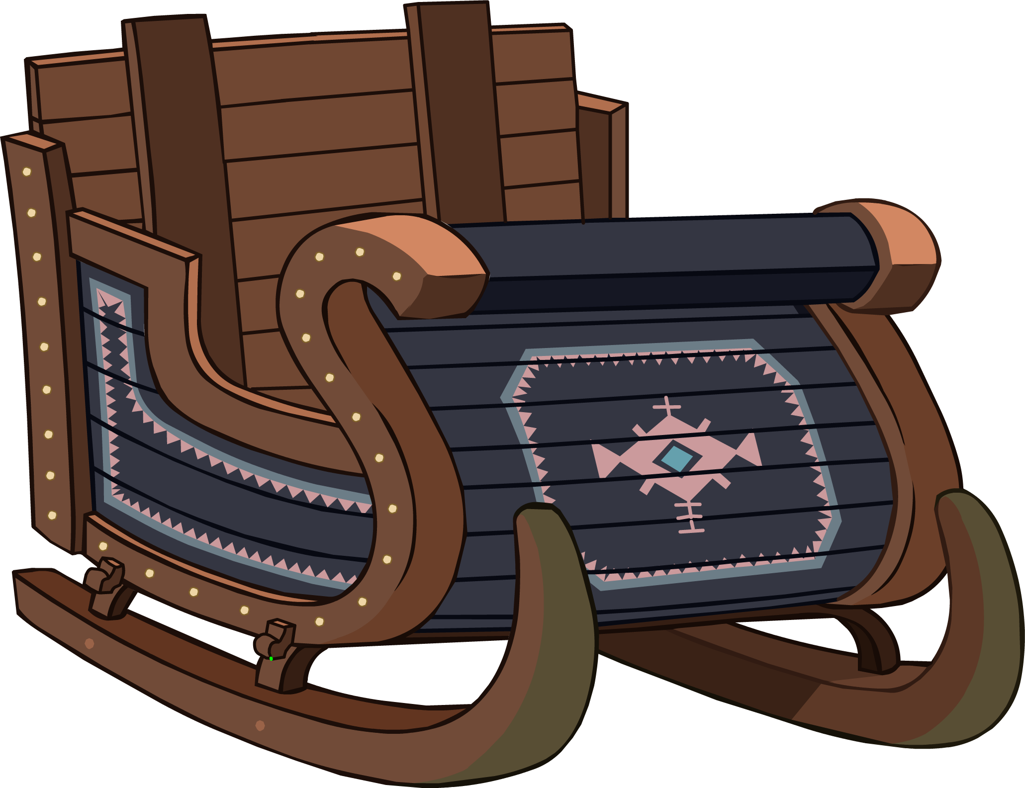 2061x1585 Sleigh Png Image Png Mart