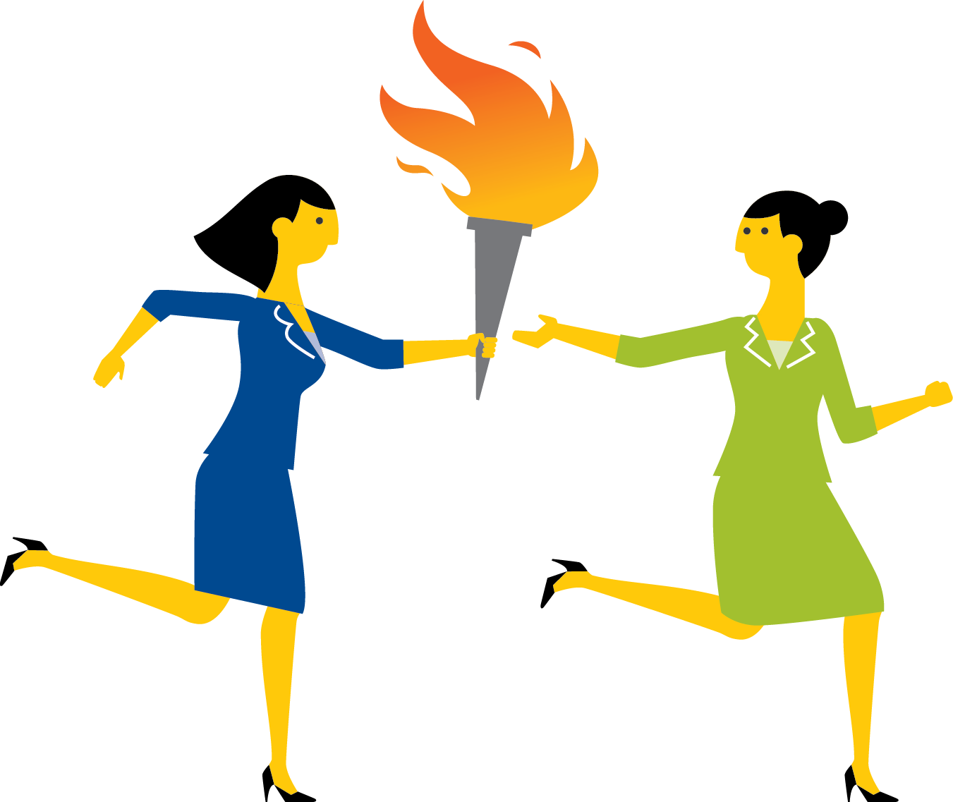 1351x1137 Collection Of Passing The Torch Clipart High Quality, Free