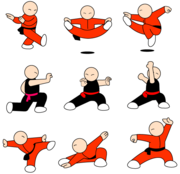 180x174 Free Kung Fu Character Free Vector Pack Clipart And Vector