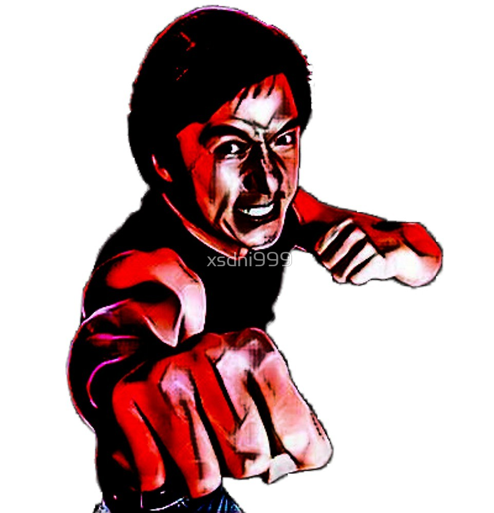 962x1000 Jackie Chan Kung Fu Martial Arts Karate Painting By Xsdni999