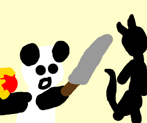 300x250 Kung Fu Panda Clipart Fighter