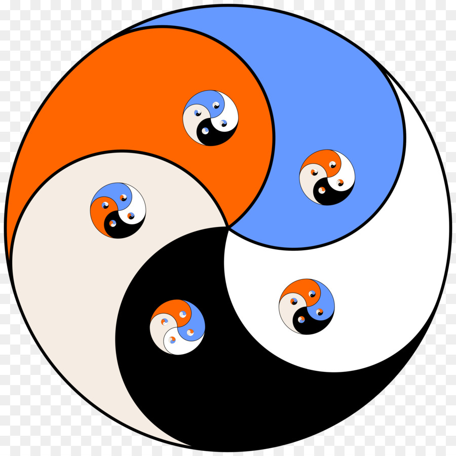 900x900 Yin And Yang Kung Fu Clip Art