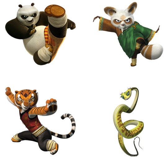 532x513 Kung Fu Panda Clipart File