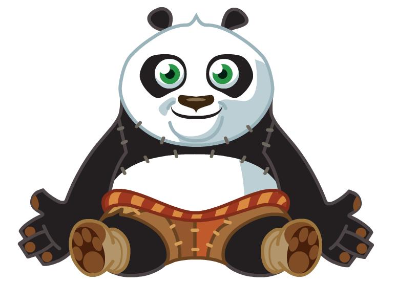 773x553 Kung Fu Panda Clipart File