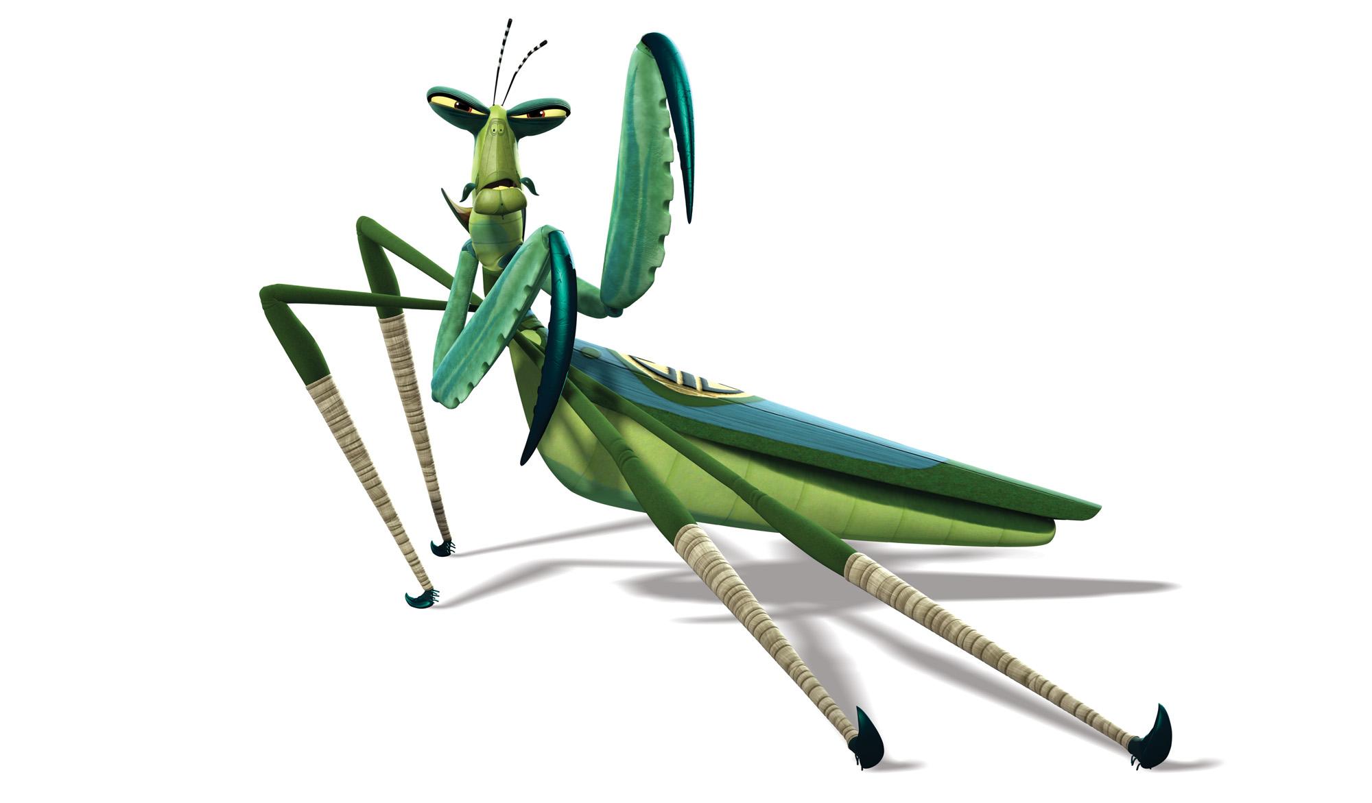 2000x1171 Kung Fu Panda Clipart Grasshopper