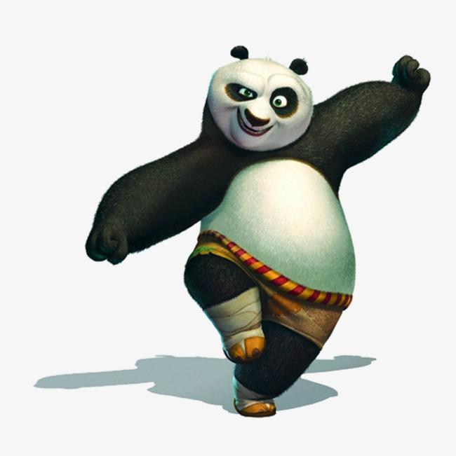 650x651 Kungfu Panda, Effort, Panda, Acting Cute Png Image And Clipart