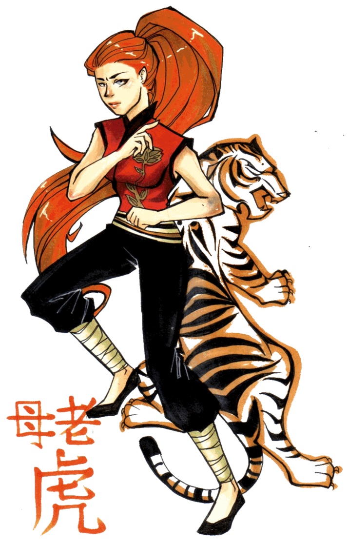 714x1119 Tigress Kung Fu Panda By Glory Day