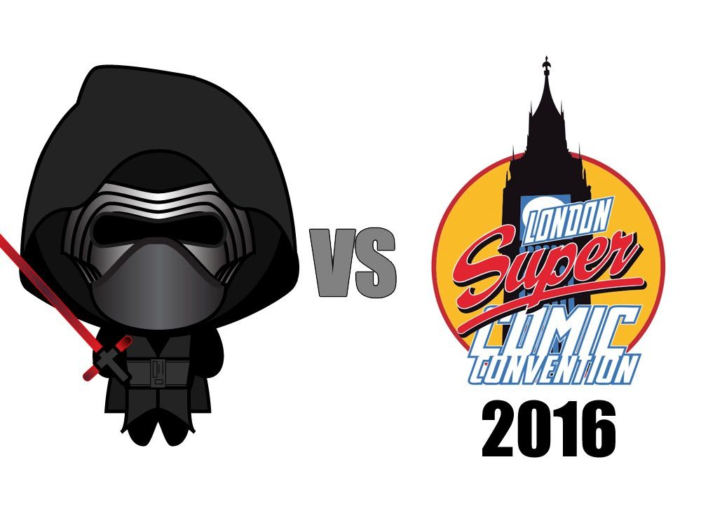 1000x750 Kylo Ren Is Angry And Decides To Go To London Super Comic Con. D