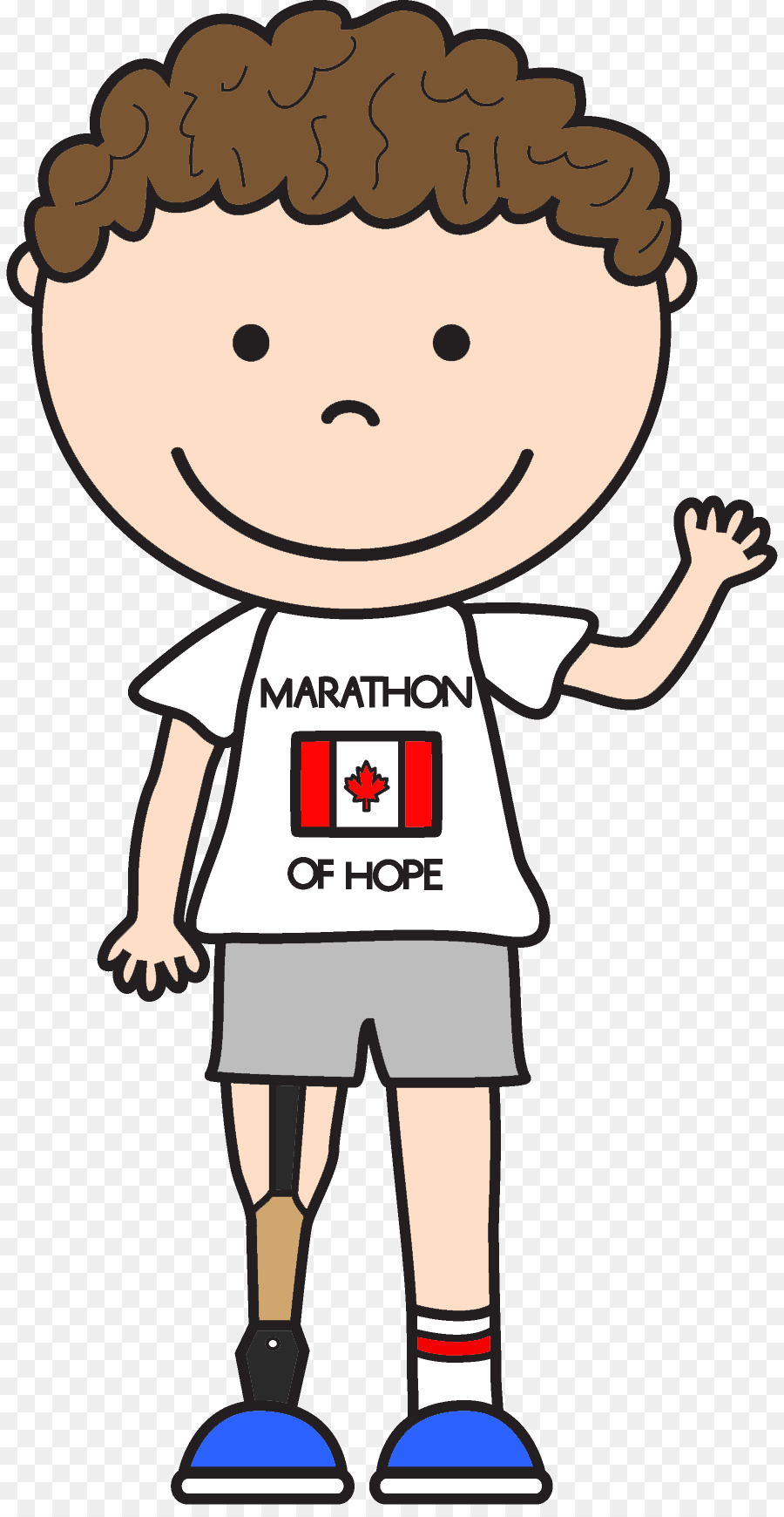 900x1740 Terry Fox Run Le Marathon De L'Espoir Child Clip Art