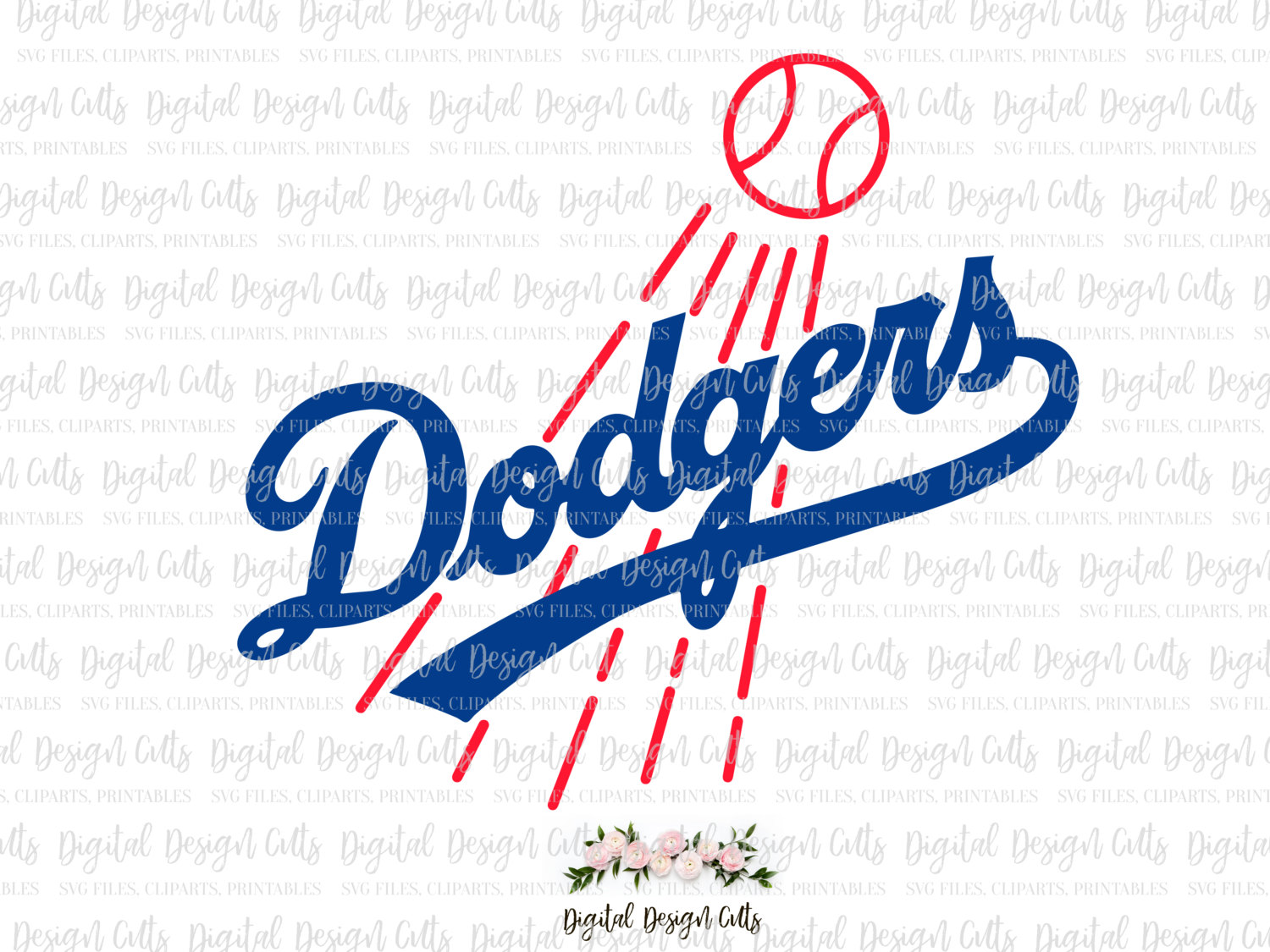 La Dodgers Clipart At Getdrawings Free For Personal Use La