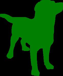 246x298 Green Lab George Clip Art