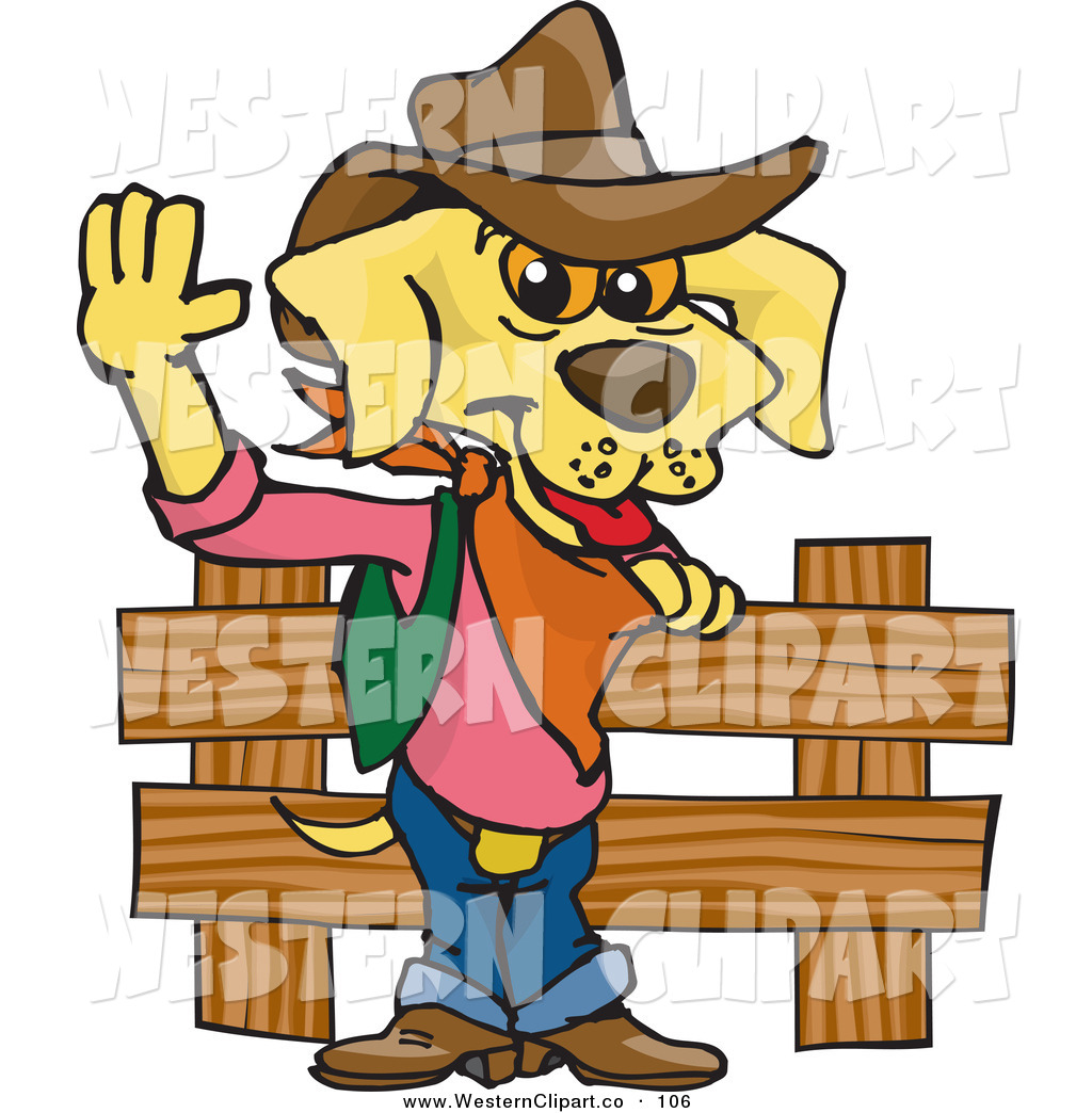 1024x1044 Cowboy Clipart Dog