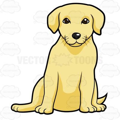 400x400 Golden Retriever Puppies Clip Art. Free Lab Golden Clipart