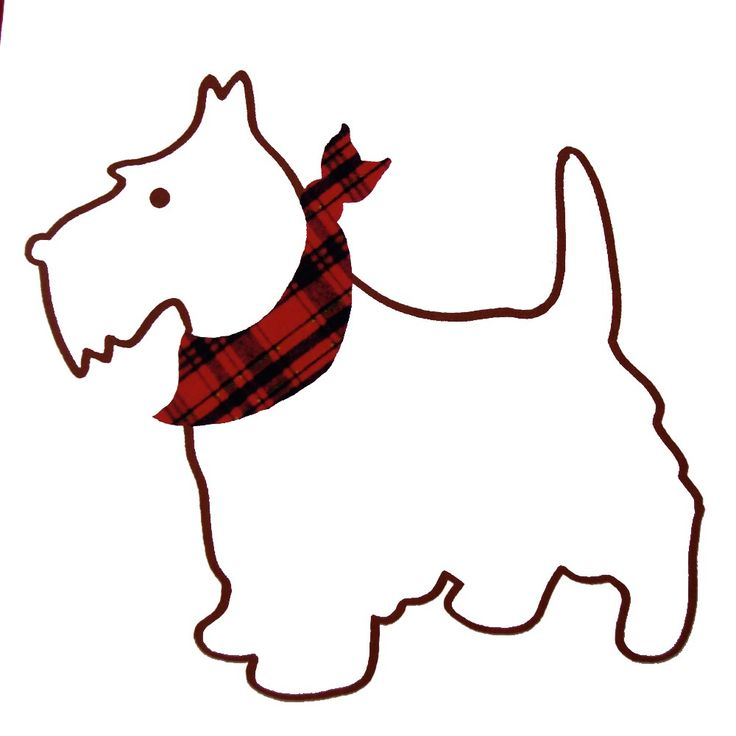 736x736 Scottish Terrier Dog Coloring Pages