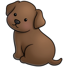 220x220 Choc Lab Fluff Favourites Labs, Clip Art And Dog