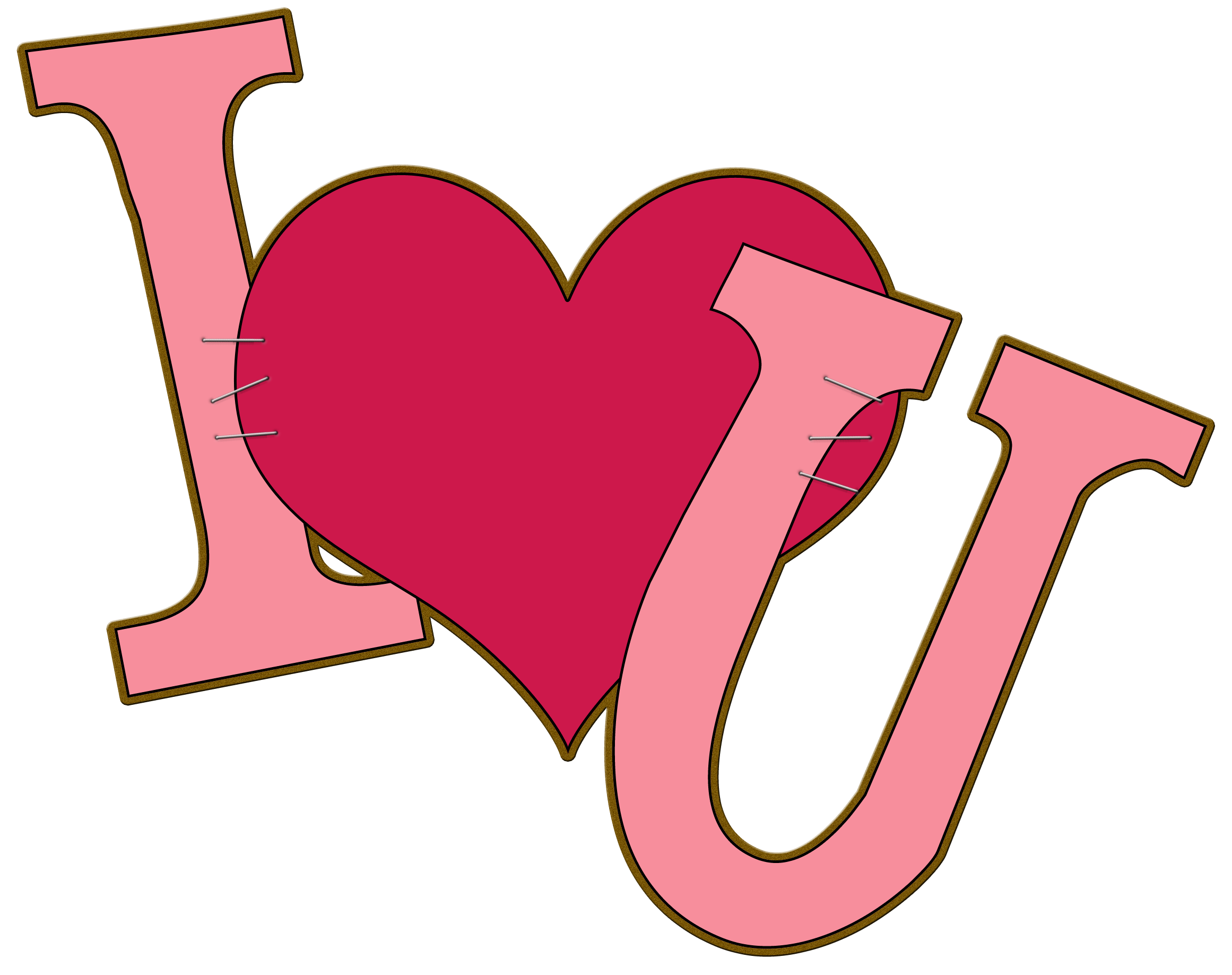 2322x1837 I Love You Clipart