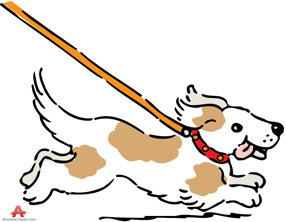 999x774 Leashed Clipart