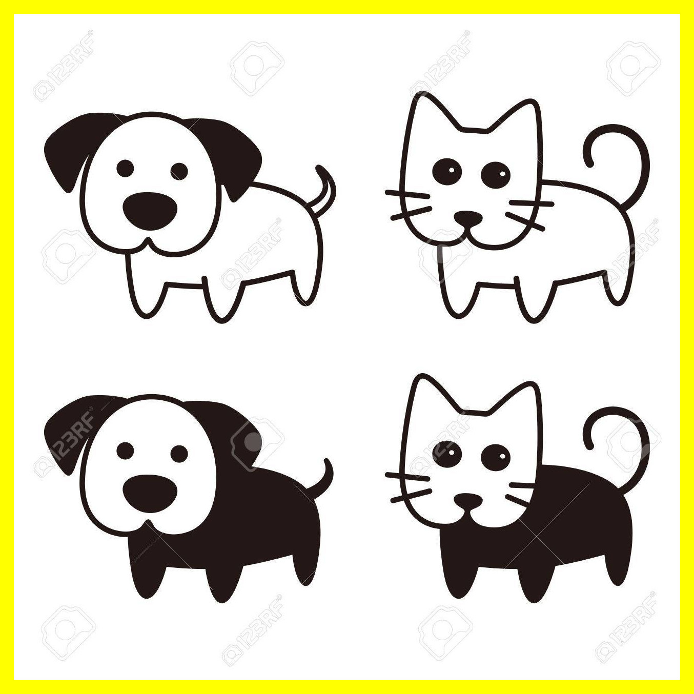 1354x1354 Unbelievable Get Clip Art Dog Clipart Puppy Pict Of Cute Vector