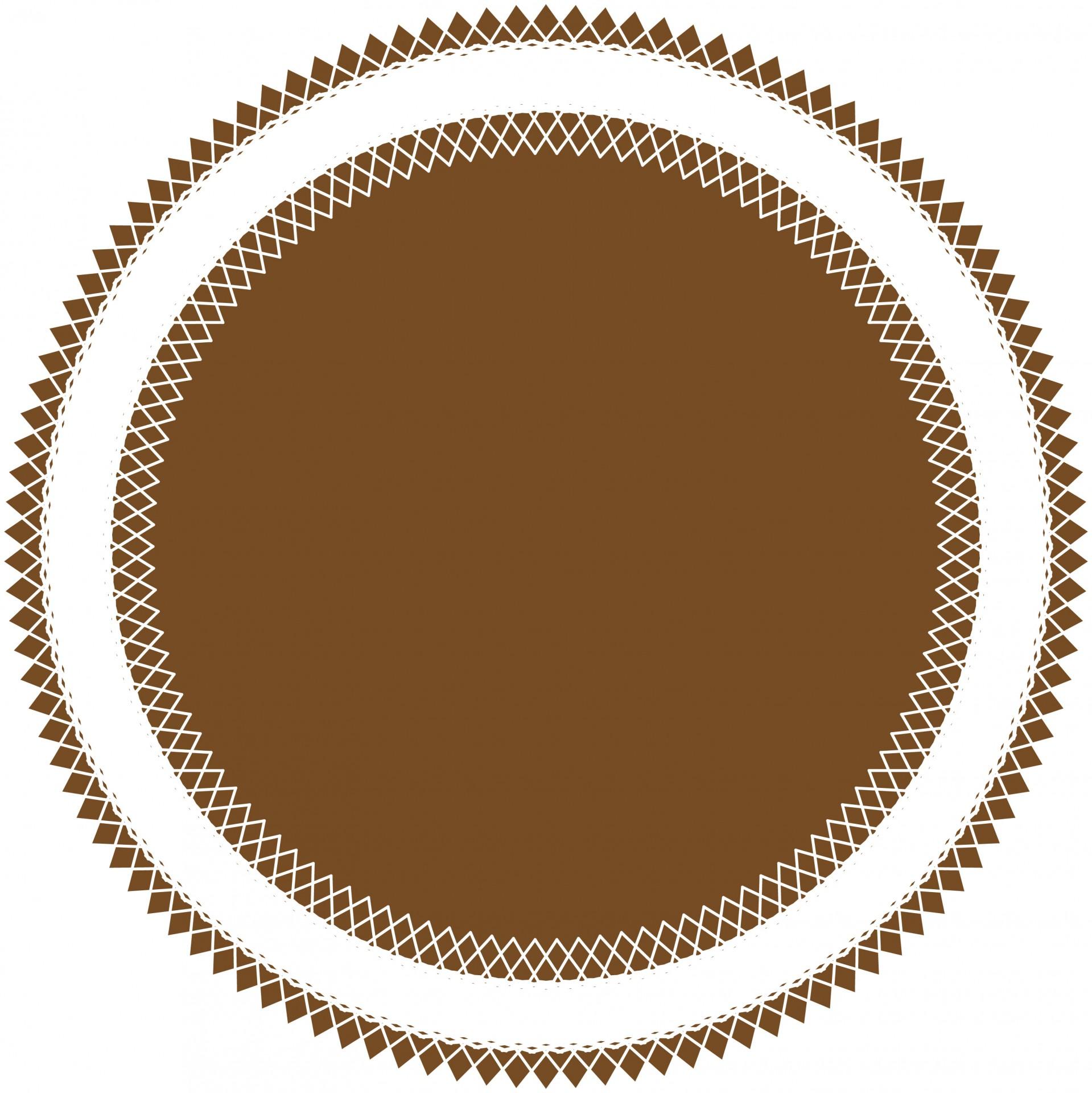 1919x1920 Doily Shape Clip Art Free Stock Photo
