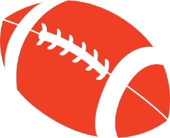 340x277 Football Laces Clip Art
