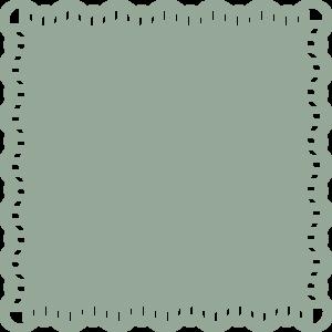 300x300 Lace Trimmed Square Clip Art