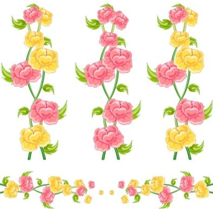 420x411 Butterfly Flower Clip Art Butterfly Flowers Vector 156143