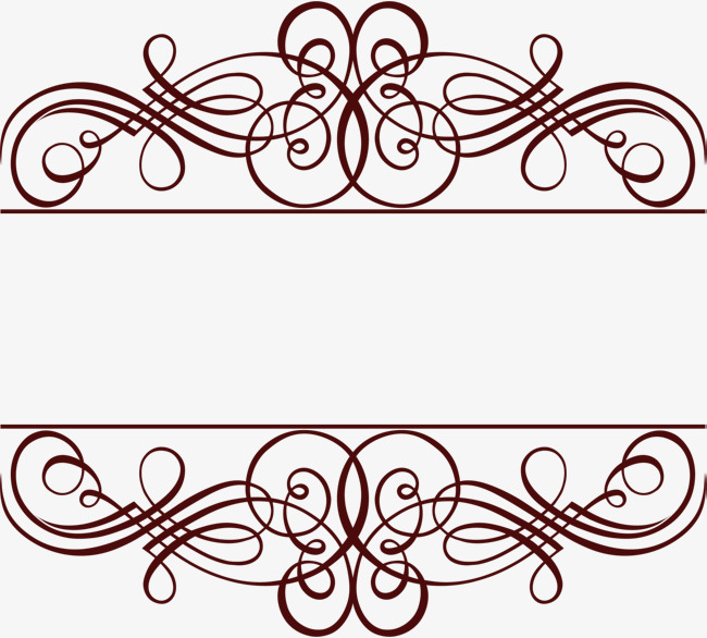650x586 Coffee Line Lace, Coffee Lines, Simple Lace, Border Texture Png