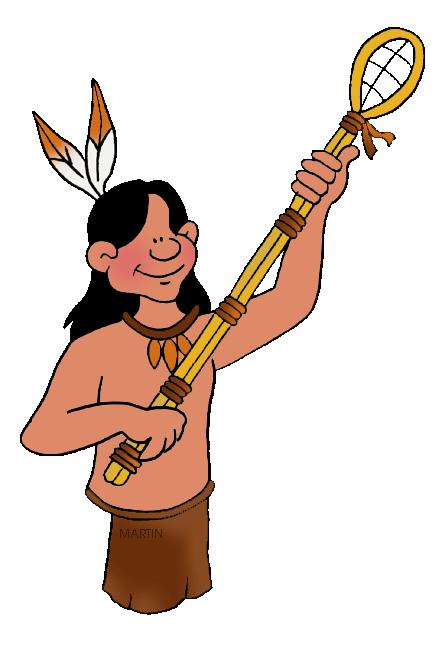 442x648 Native Americans Clip Art By Phillip Martin, Lacrosse
