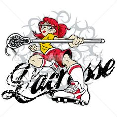 236x236 Sports Clipart Image Of Boys Youth Color Lacrosse Player Graphic