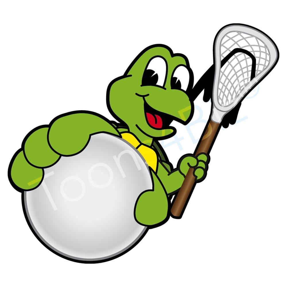 1000x1000 Turtle Mascot On Lacrosse Team Graphic