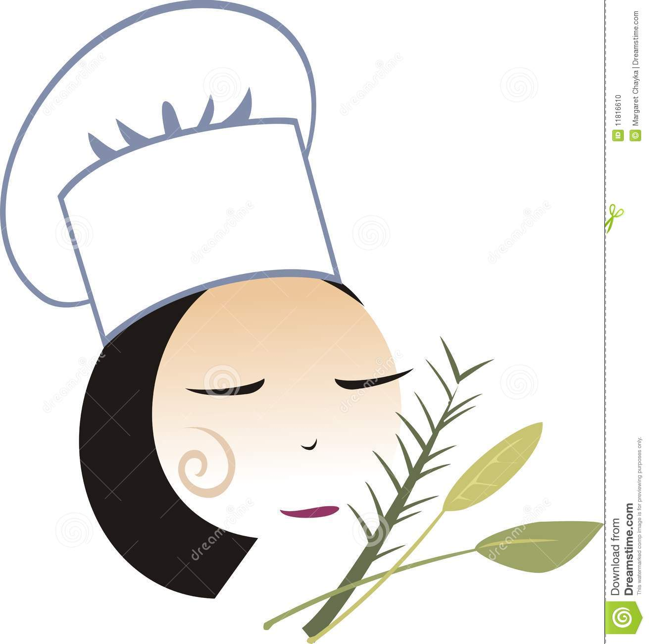 1311x1300 Lady Chef Clipart Collection