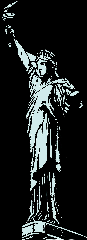 958x2627 Statue Of Liberty Clip Art Free Clipart
